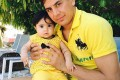 عکس حامد لک و دخترش