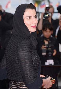 لیلا حاتمی در آخرین روز از جشنواره کن