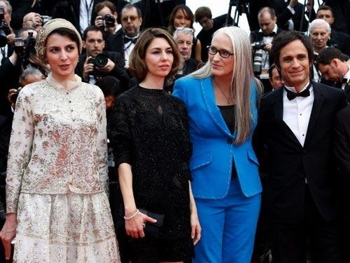 لیلا حاتمی در مراسم افتتاحیه جشنواره فیلم کن