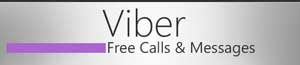 ارسال اس ام اس با وایبر, دانلود نرم افزار Viber