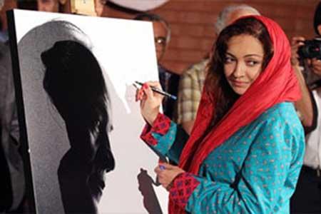 عکس نیکی کریمی و مهتاب کرامتی در جشن نکوداشت صمدیان