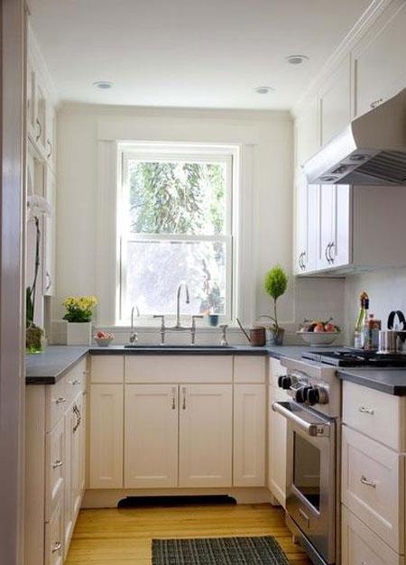 راهنمایی طراحی آشپزخانه کوچک
