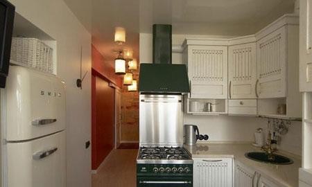 طراحی آشپزخانه کوچک ,دکوراسیون آشپزخانه های کوچک