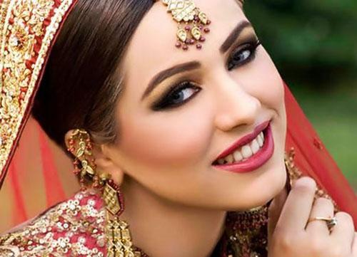مدل آرایش هندی