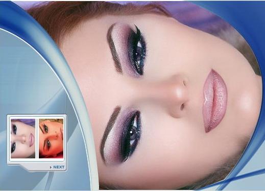 مدلهای آرایش چشم عربی
