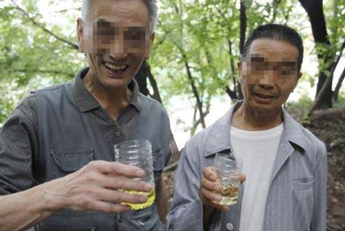 درمان چندش آور با نوشیدن ادرار