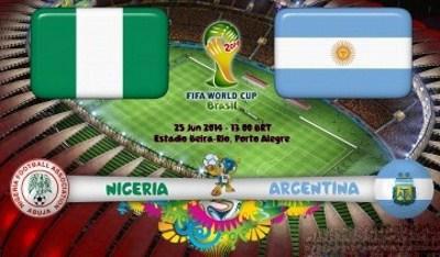 نتیجه بازی آرژانتین و نیجریه در جام جهانی 2014