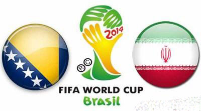 دانلود فیلم بازی ایران و بوسنی در جام جهانی 2014