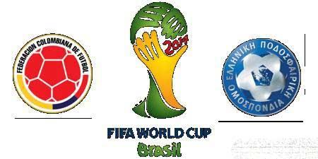 نتیجه دیدار تیم کلمبیا و یونان در جام جهانی 2014