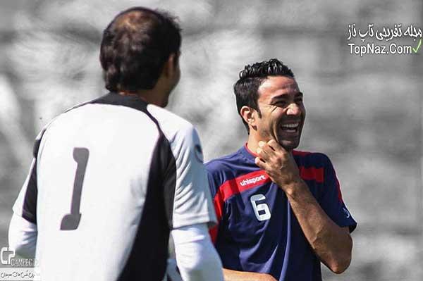 بازیکنان تیم ایران