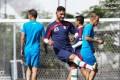 عکس از تمرین بازیکنان تیم ایران در سائوپائولو