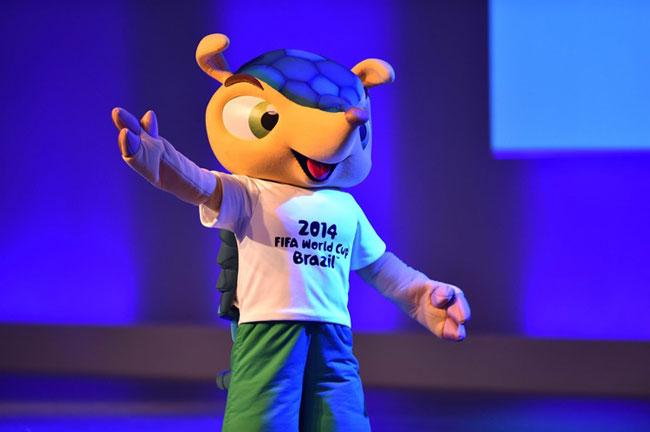 عکس عروسک جام جهانی 2014