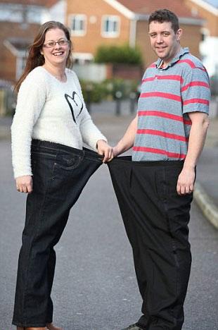 زن و شوهر چاق