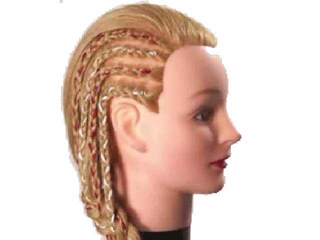 مدل بافت مو کف سر