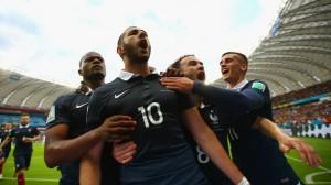نتیجه بازی فرانسه و هندوراس در جام جهانی 2014