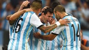 نتیجه دیدار تیم های آرژانتین و بوسنی در جام جهانی 2014