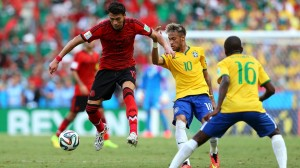 نتیجه دیدار تیم برزیل و مکزیک در جام جهانی 2014