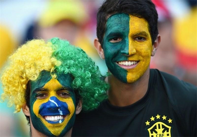 عکس های جالب تماشاگران کشورهای مختلف جام جهانی