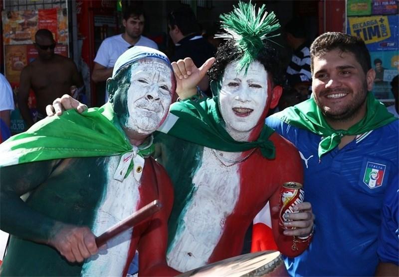 تماشاگران کشورهای مختلف جام جهانی
