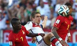 نتیجه بازی آلمان و غنا در جام جهانی 2014
