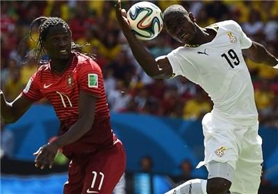 نتیجه بازی پرتغال و غنا جام جهانی 2014 و حذف پرتغال