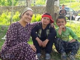 عکس های مهناز افشار در تاجیکستان