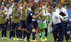 تیم هلند با 5 گل اسپانیا را در هم کوبید