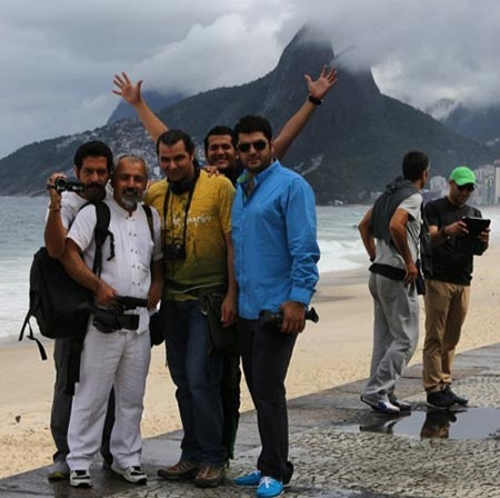 تصاویر خوشگذرانی بازیگران ایرانی در برزیل!