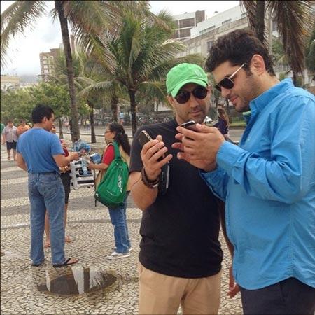 اخبار,اخبار فرهنگی ,بازیگران ایرانی در برزیل