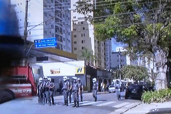 ادامه اعتراضات به جام جهانی در سائوپائولو