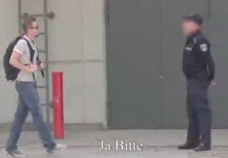 کلیپ دوربین مخفی خنده دار شوخی با پلیس