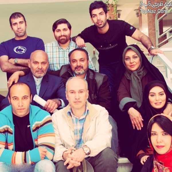سحر قریشی در کنار جمشید هاشم پور