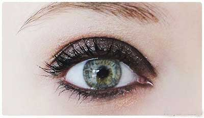 آرایش چشم دودی به همراه سایه اکلیلی | www.ysame.ir