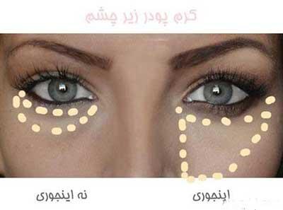 روش صحیح آرایش چشم و ابرو