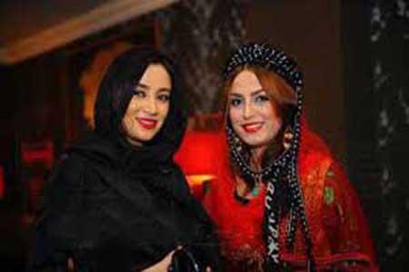 بهاره افشاری و لاله اسندری در جشنواره فیلم اربیل