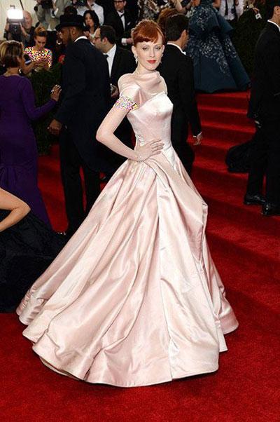 هنرمندان هالیوودی در مراسم Met Gala 2014,بهترین لباس ها در مراسم Met Gala 2014