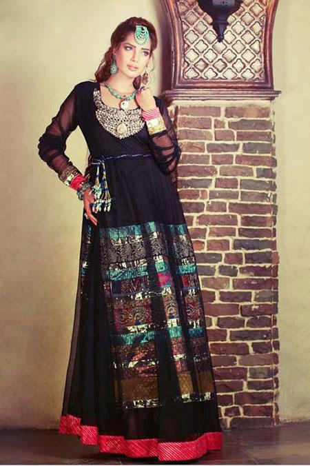 مدل لباس زنانه پاکستانی