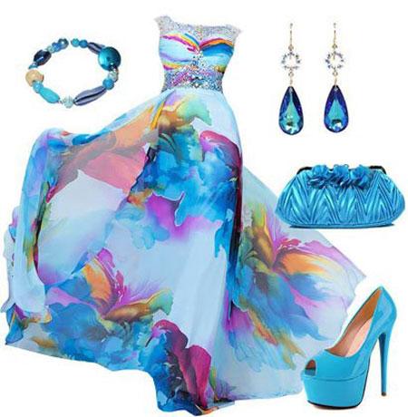 ست های لباس شب مخصوص عروسی های تابستانی