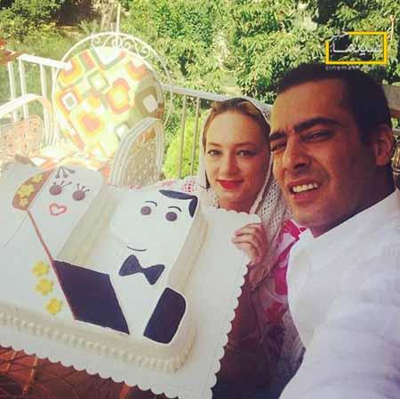 عکس سحر ولدبیگی و همسرش در جشن ازدواجشان
