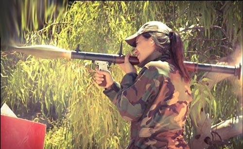 زنان نظامی (2)