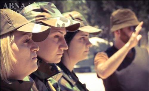 زنان نظامی (5)