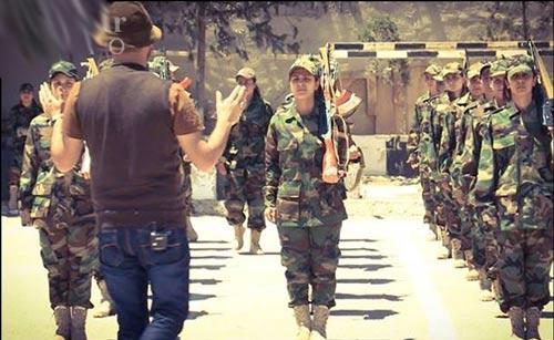 زنان نظامی (6)