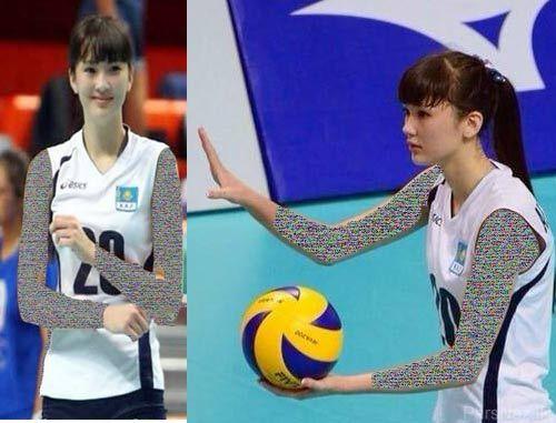 جذاب ترین زن والیبالیست زن اسیا انتخاب شد