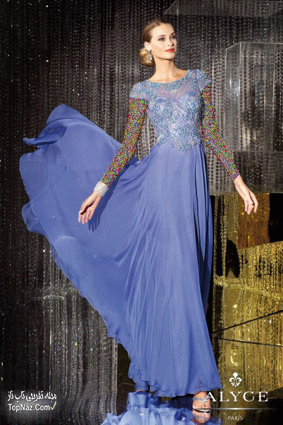 لباس مجلسی زنانه بلند