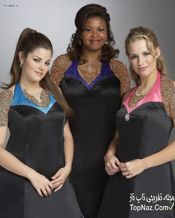 لباس مجلسی برای زنان چاق