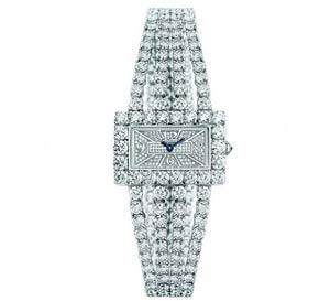 مدل زیبا و شیک از ساعت های الماس زنانه