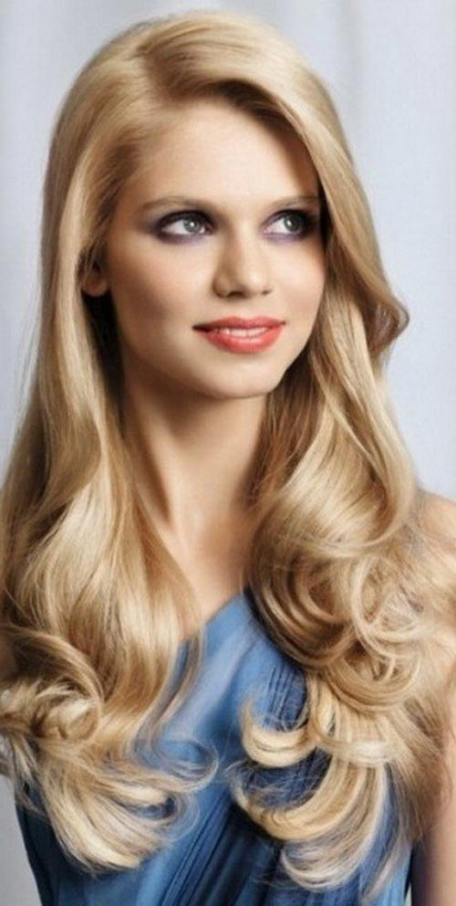 مدل مو بلند دخترانه به سبک سلبریتی ها