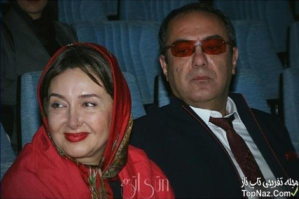 عکسی از کتایون ریاحی و همسرش