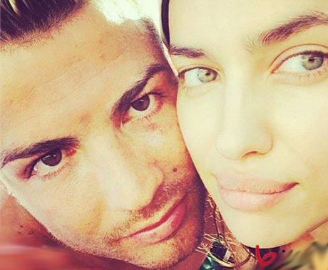 عکس سلفی کریستیانو رونالدو و نامزدش