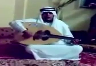 کلیپ خنده دار عود زدن مرد عرب